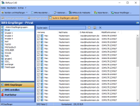 Massen-SMS Software SMSout f�r den Versand von Serien-SMS und personalisierten SMS